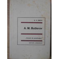 A.M. BUTLEROV