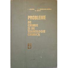 PROBLEME DE CHIMIE SI DE TEHNOLOGIE CHIMICA