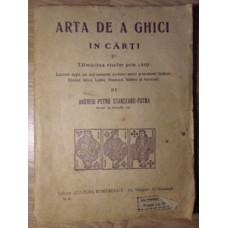 ARTA DE A GHICI IN CARTI SI TALMACIREA VISELOR PRIN CARTI