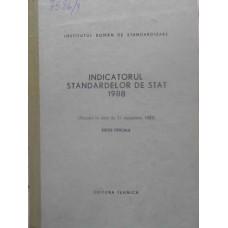 INDICATORUL STANDARDELOR DE STAT 1988
